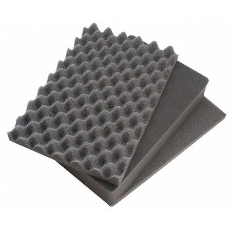 Case Foam,9.87 Lx7 W In -  PELICAN, 1300-400-000