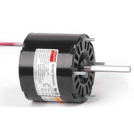 HVAC Motor 1/30 HP 1550 rpm 115V 3.3 by USA Dayton HVAC 3.3 Inch Diameter Motors