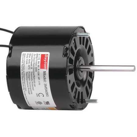 HVAC Motor 1/70 HP 3000 rpm 115V 3.3 by USA Dayton HVAC 3.3 Inch Diameter Motors