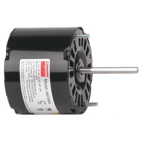 HVAC Motor 1/50 HP 3000 rpm 115V 3.3 by USA Dayton HVAC 3.3 Inch Diameter Motors
