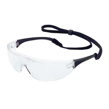 3PA44 Safety Glasses, Clear, Scratch-Resistant