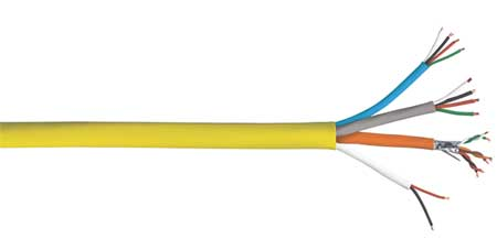 Comm Cable Plenum 22/16 500 Ft. by USA Carol Communication Cables