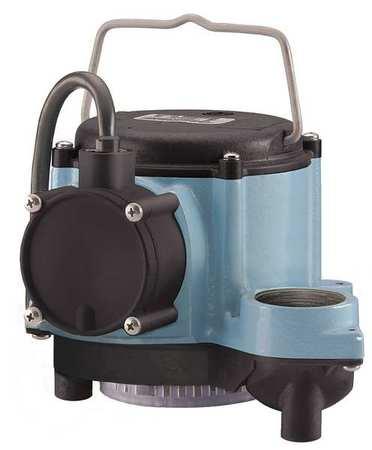 LITTLE GIANT - Sump Pump, 4/10HP, 1-1/2In NPT, 23ft Max, CI