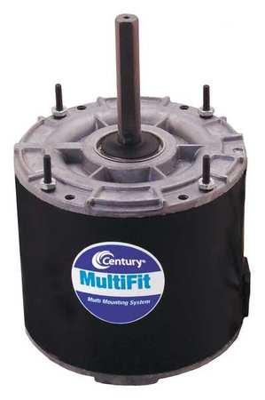 Condenser Fan Motor 1/6to1/4HP 1625 rpm by USA Century Permanent Split Capacitor Condenser Fan Motors