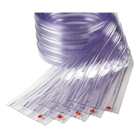 Tmi Replacement Strips Ribbed 12in Clear PK5
