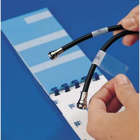 Self-Laminating Wire & Cable Markers