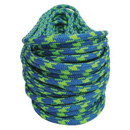 All Gear Climbing Rope PES 7/16 In. dia. 120 ft L Type AG24SP716120P