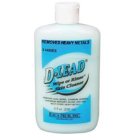 D-lead Wipe Or Rinse Skin Cleaner,8 Oz.