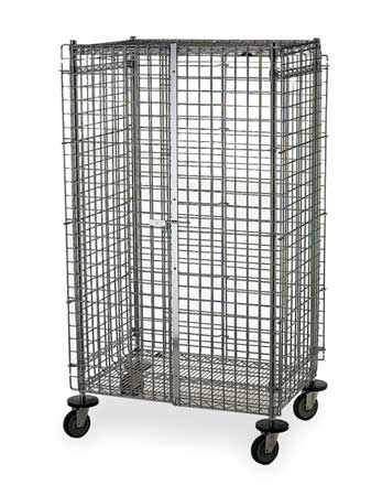 Metro Wire Security Cart 900 lb. 36 In. L