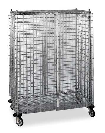 Metro Wire Security Cart 900 lb. 48 In. L