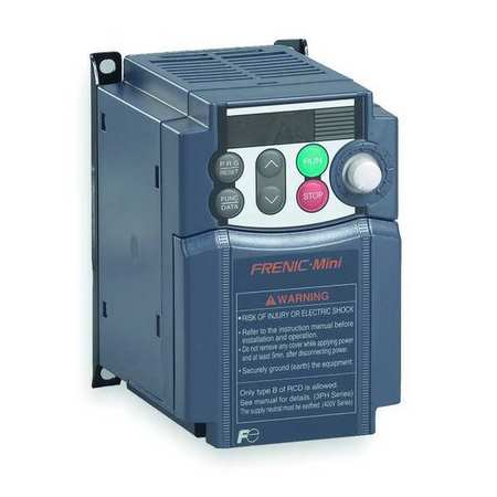 Variable Frequency Drive 1 HP 115VAC by USA Fuji Variable Frequency Open Enclosure Drives