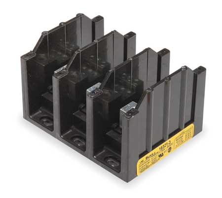 Pwr Dist Block 310A 3P 1P Primary 600VAC by USA Bussmann Electrical Wire Power Distribution Blocks