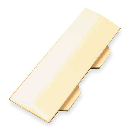 Cover Clip Ivory PVC 40N2 Series Clips by USA Legrand Electrical Raceways