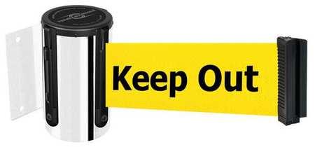 Black,Belt Color Yellow TENSABARRIER 896-STD-33-STD-NO-YAX-C Belt Barrier