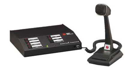 P/A and General Alarm Control System by USA Federal Signal Wired Intercom Systems