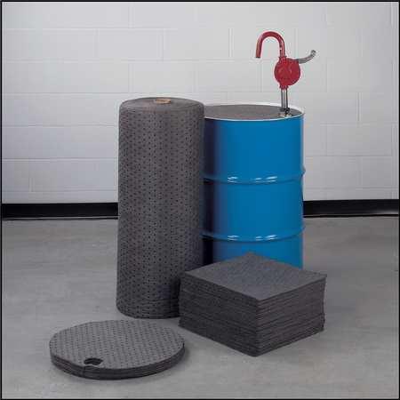 Absorbent Pads,Medium Weight,PK100 BRADY SPC ABSORBENTS MRO300