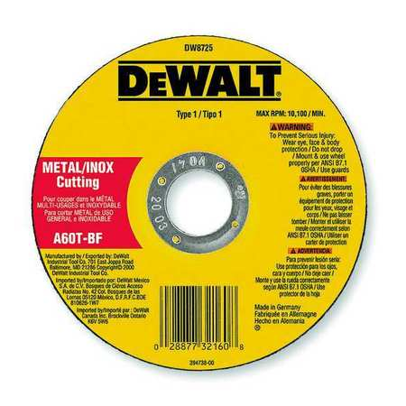 DeWalt Cutoff Wheel