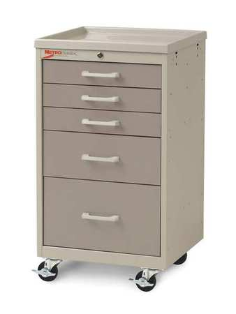 Metro Compact Cart Steel/Polymer Lt./Dk.Taupe Type MBC3110TL-DT