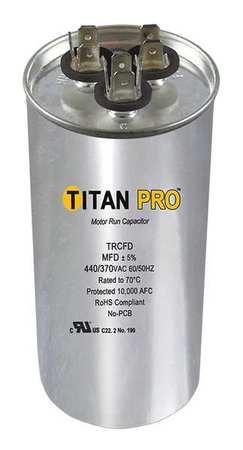 Motor Dual Run Cap 45/5 MFD 370 440V by USA Titan o Motor Run Capacitors