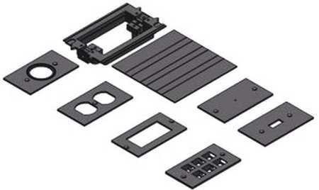 Floor Box Activation Kit Rectangular by USA Carlon Electrical Floor Boxes & Covers