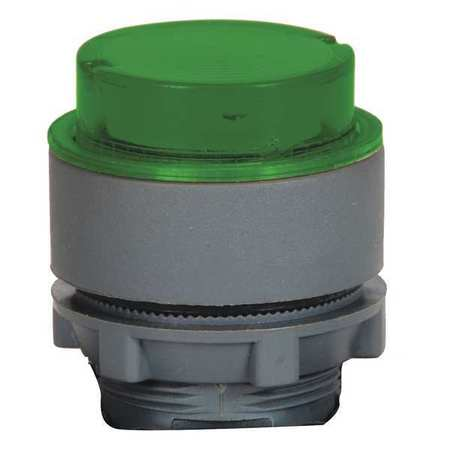 Illum Push Button Operator 22mm Green Model 30G132 by USA Dayton Electrical Illuminated Pushbuttons