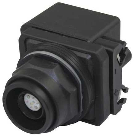 Illum Push Button Operator 30mm Clear Model 30G374 by USA Dayton Electrical Illuminated Pushbuttons