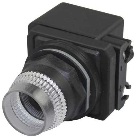Illum Push Button Operator 30mm Clear Model 30G377 by USA Dayton Electrical Illuminated Pushbuttons