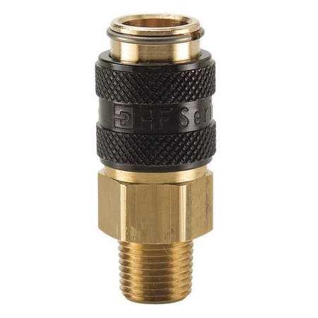 HF-124-4FP PARKER Coupler Plug,Brass,FNPT,1//4 In Pipe