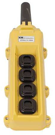 Pendant Station Single Speed Yellow by USA KH Electrical Push Button Control Stations