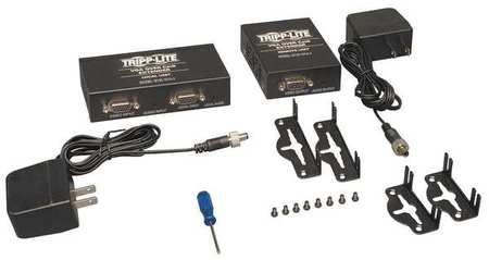 Video/Audio Extender F Type VGA by USA Tripp Lite Audio Video Splitters Connectors & Adapters