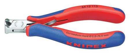 Knipex End Cutting Nipper 4 1/2 in. Bevel Cut Type 64 12 115