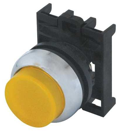 Illum Push Button Operator 22mm Yellow Model M22M DLH Y by USA Eaton Electrical Pushbutton Accessories