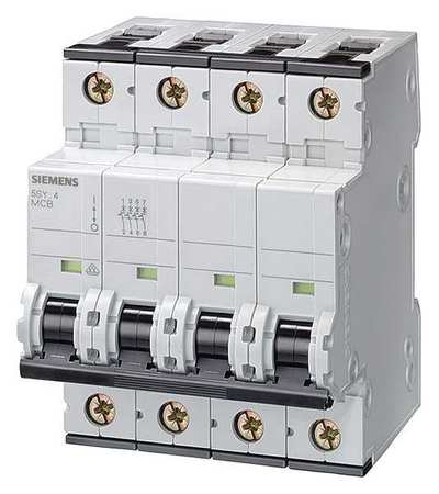 3P IEC Supplementary Protector 0.3A 400VAC Model 5SY66147 by USA Siemens Circuit Breakers