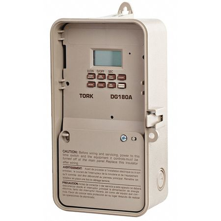 Electronic Timer 24 Hours DPDT by USA Tork Electronic Timers