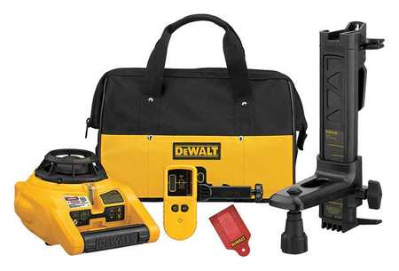 Rotary Laser Level,Int/Ext,Red,1500 ft.