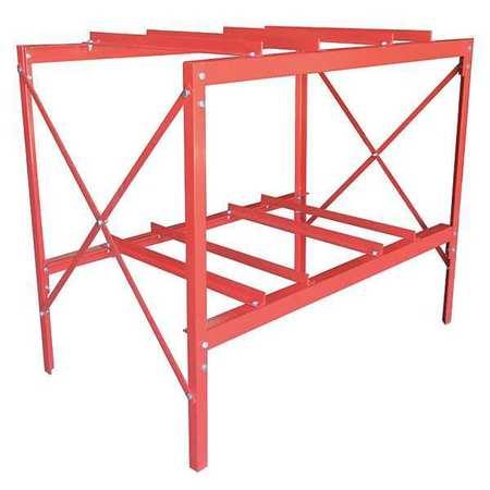 Value Brand Drum Rack (4) 55 gal. Steel