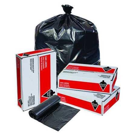 Trash Bags,60 Gal.,1.20 Mil,pk100