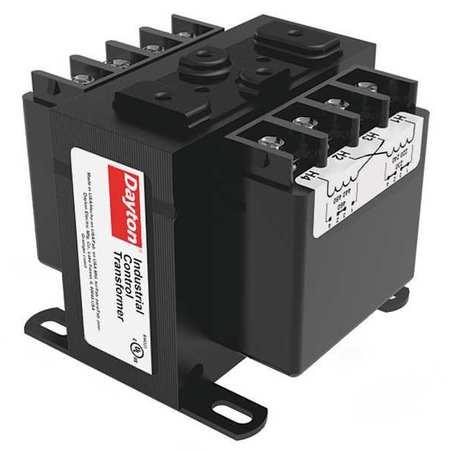 Control Transformer 100VA 12/24VAC Model 31EJ08 by USA Dayton Electrical Control Transformers