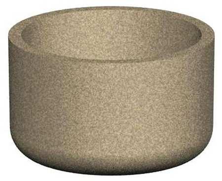 "Petersen 48"" Round Security Planter Concrete Type RP48X30"