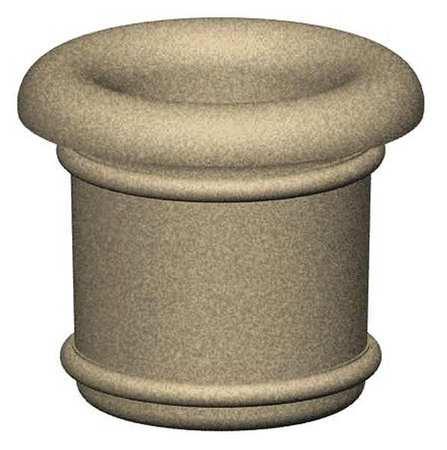 "Petersen 42"" Round Security Planter Concrete"