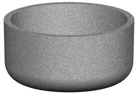 "Petersen 48"" Round Security Planter Concrete"