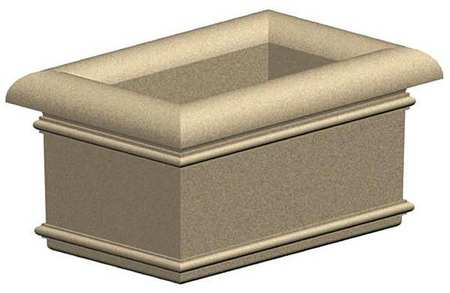 "Petersen 24"" x 36"" Security Planter Concrete"
