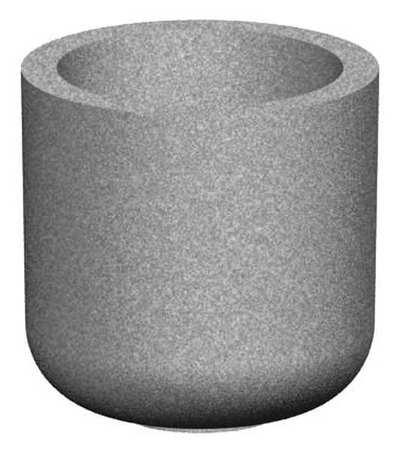 "Petersen 30"" Round Security Planter Concrete"