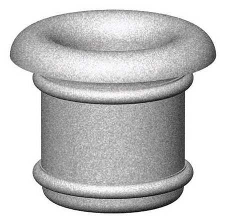 "Petersen 36"" Round Security Planter Concrete Type A3"