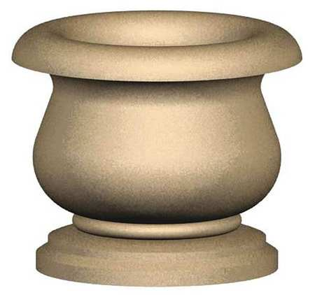 "Petersen 36"" Round Security Planter Concrete Type CN36X30"