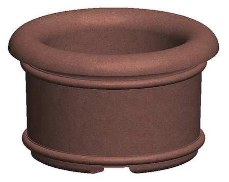 "Petersen 60"" Round Security Planter Concrete Type A5"