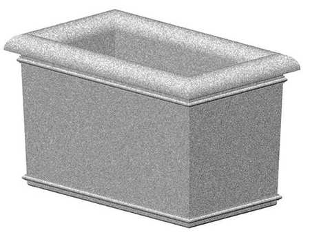 "Petersen 60"" x 36"" Security Planter Concrete Type A60X36X36"