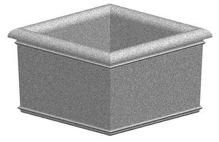 "Petersen 60"" x 60"" Security Planter Concrete"