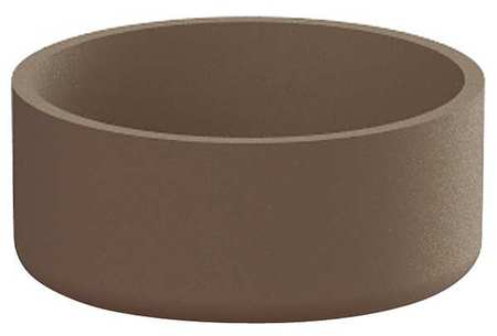 "Petersen 84"" Round Security Planter Concrete"