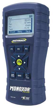 Carbon Monoxide Analyzer,0 to 2000 ppm -  BACHARACH, 0019-8117